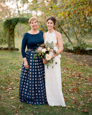 Our Favorite Mother-of-the-Bride and-Groom Dresses for a Winter Wedding