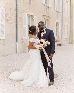 A Worldly Wedding at a Glamorous Estate in Charette-Varennes, France