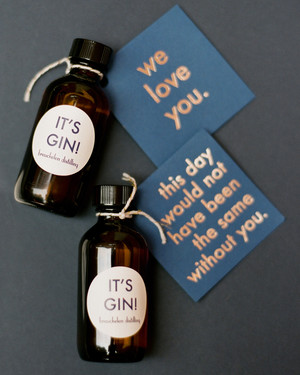 Boozy Favors to Keep the Party Going Post-Wedding