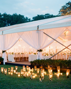 The Most Romantic Ways to Decorate Your Entire Wedding with Candles
