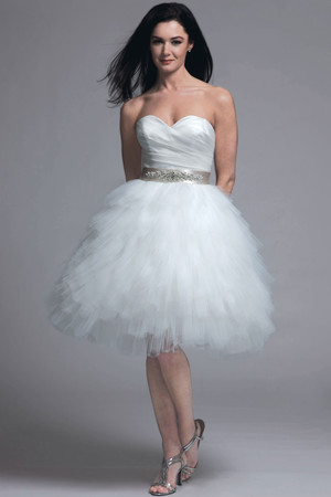 Short Wedding Dresses from Spring 2013 Bridal Fashion Week