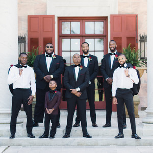niara allen wedding groomsmen
