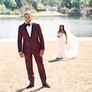 shanice & stephen wedding first look