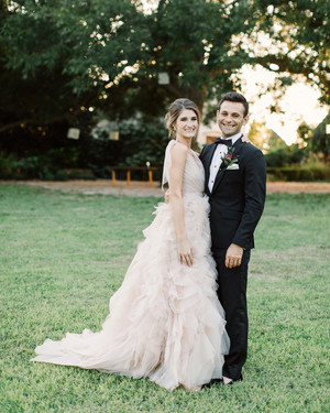 One Couple Brought a Little New York City Style to Their Texas Hill Country Wedding