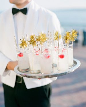 Wedding signature drink recipes for every bride and groom martha 16 fun swizzle sticks to upgrade your signature drink junglespirit Gallery