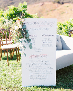 45 Perfect Wedding Ceremony Programs