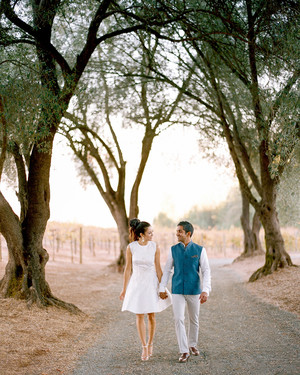 A Haldi Ceremony and a Welcome Dinner Kicked Off This Couple's Wedding Weekend in Napa Valley