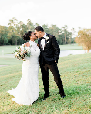 This Texas Wedding Took Place in a Stunning Church with Wooded Views
