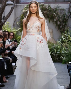 Monique Lhuillier Spring 2017 Wedding Dress Collection