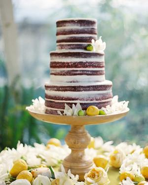 96f1b73eaca Beautiful Naked Wedding Cake Ideas