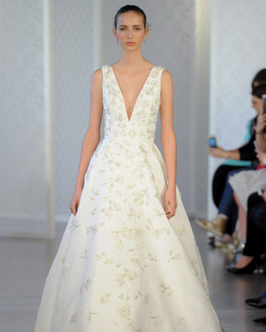 Oscar de la Renta Spring 2017 Wedding Dress Collection