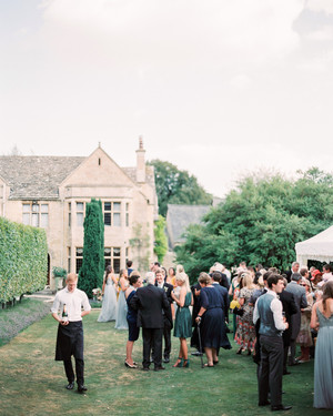 This Couple's Oxfordshire Wedding Fused Traditional English Style with Modern Bohemian Details