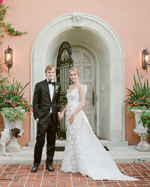 A Timeless Palm Beach Wedding with a Blue-and-White Color Palette