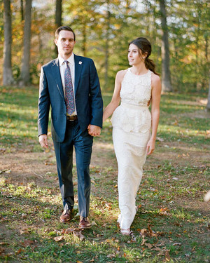A Botanical-Themed Fall Wedding in Virginia