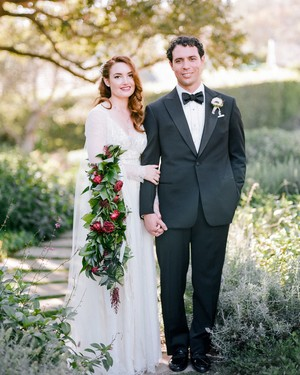 A Romantic California Wedding with Vintage Touches & Incredible Florals