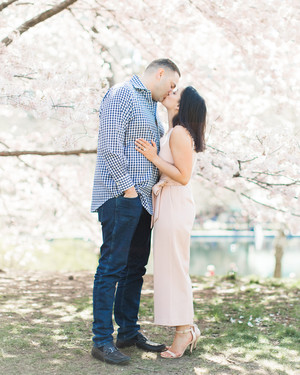 The Prettiest Spring Engagement Photos