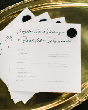 36 Simple, Beautiful Black-and-White Wedding Ideas