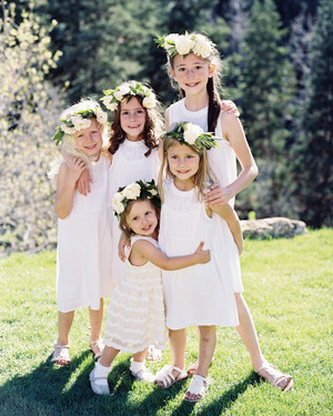 Our Favorite Sleeveless Flower Girl Dresses