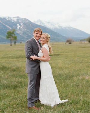 A Charming, Western-Inspired Wedding in Wyoming