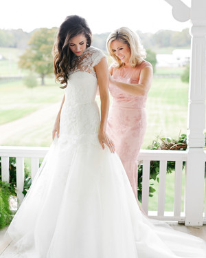 The Prettiest Pink Mother-of-the-Bride and-Groom Dresses