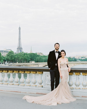 One Couple Chose a Parisian Dinner Party Vibe for Their Wedding Weekend in France