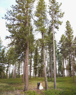 Jamie and Ryan's Glamping-Style Montana Wedding