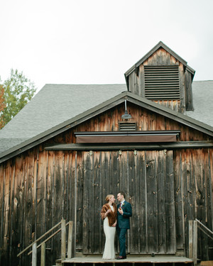 A Fun Fall Wedding in the Berkshires