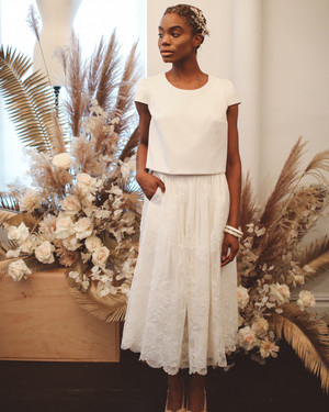 Laure de Sagazan Fall 2019 Wedding Dress Collection