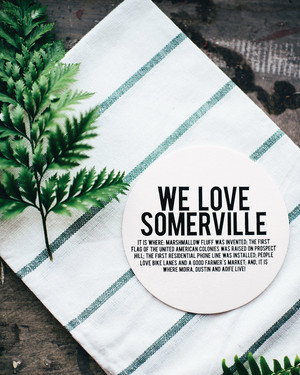 30 Cute Wedding Coasters & Napkins