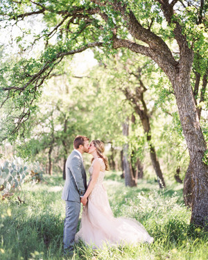 Paige and Chris's Garden Party Wedding in Austin