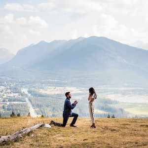 perfect proposals rocky mountains backdrop