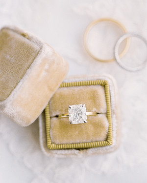 30 Princess-Cut Diamond Engagement Rings We Love