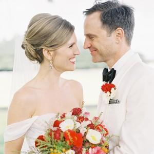 Martha stewart weddings wedding planning ideas inspiration wedding couple portrait junglespirit Images