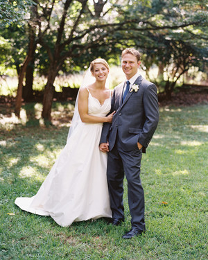 Beth and Scott's Sweet Summer Wedding at a Maryland Nature Sanctuary
