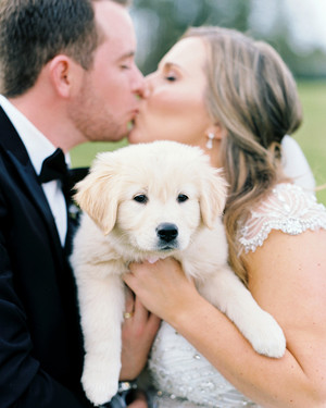 One Couple's Elegant Lakeside Wedding in South Carolina