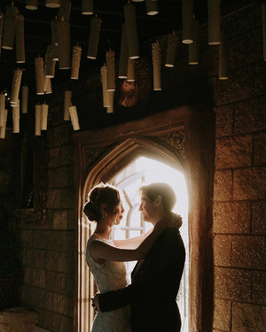 "A Moody, Magical ""Harry Potter""-Themed Wedding"