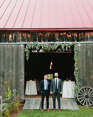 A Farm Wedding Filled with Personalized, Eclectic Touches