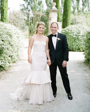An Elegant Garden Wedding in Southern France