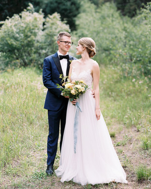One Couple's Personalized Summer Wedding in Colorado