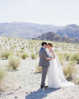 A Colorful, Whimsical Wedding in the California Desert