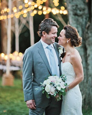 A Tennessee Wedding at the Couple's Log Cabin Home