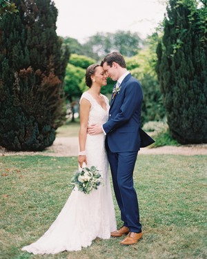 An Elegant and Intimate Celebration in the French Countryside