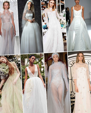 Wedding Dress Trends from Spring 2020 Bridal Fashion Week