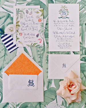 A Charming, Colorful South Carolina Wedding
