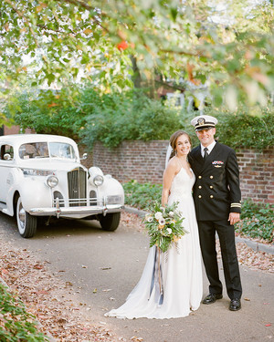 A Star-Spangled Military Wedding in Charlottesville, Virginia