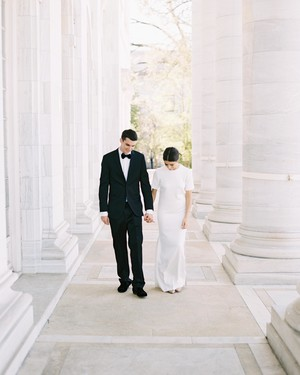 A Modern, Black-Tie Wedding in Washington, D.C.