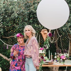 boho chic bachelorette party host