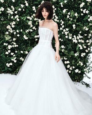 Carolina Herrera Spring 2020 Wedding Dress Collection