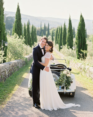 Lauren and Ollie's Tuscan Wedding