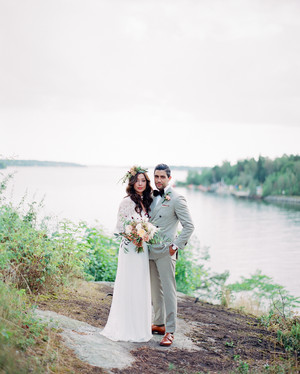 Negin and Chris's Multicultural Boho-Chic Wedding in Stockholm